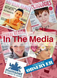 Some of the publications I have been featured in